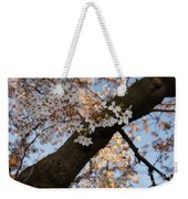 Cherry Blossoms Weekender Tote Bag by Megan Cohen