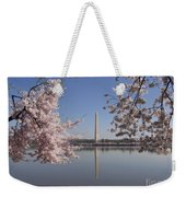 Cherry Blossoms Monument Weekender Tote Bag