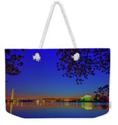 Cherry Blossoms Sunrise Weekender Tote Bag