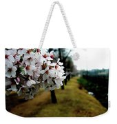 Cherry Blossoms Trail Weekender Tote Bag