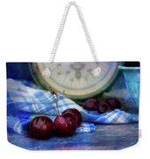 Cherry Love Weekender Tote Bag