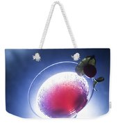 Cherry Martini Cocktail Drink At Night Weekender Tote Bag