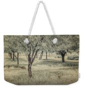 Cherry Orchard In Infrared Weekender Tote Bag