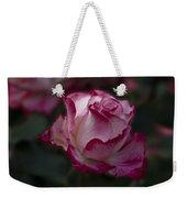 Cherry Parfait Rose Weekender Tote Bag