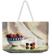 Cherry Still Life Weekender Tote Bag