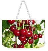 Cherry Time Weekender Tote Bag