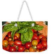Cherry Tomato Harvest Weekender Tote Bag