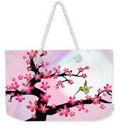 Cherry Tree Weekender Tote Bag