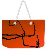 Cherry Tree Buds Weekender Tote Bag