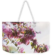 Cherry Tree Flowers Weekender Tote Bag