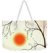 Cherry Tree In Fall Weekender Tote Bag