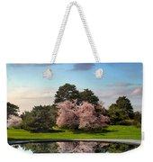 Cherry Tree Reflections Weekender Tote Bag