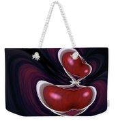 Cherry Wood Weekender Tote Bag