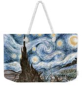 Cher's Stary Night Weekender Tote Bag