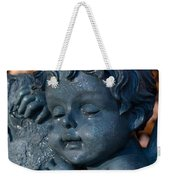Cherub Sleeping Weekender Tote Bag