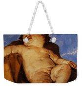 Cherub Sleeps 1627 Weekender Tote Bag