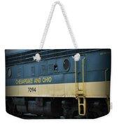 Chesapeake And Ohio Boxcar  Weekender Tote Bag