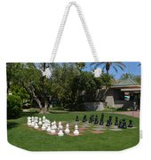 Chess At The Biltmore Weekender Tote Bag
