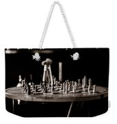 Chess Board Weekender Tote Bag