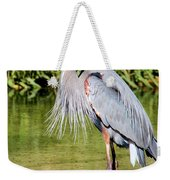 Chest Feathers Weekender Tote Bag