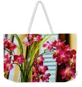 Chester House Flowers Weekender Tote Bag