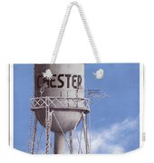 Chester Water Tower Poster Weekender Tote Bag