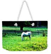 Chestnut Hill Horse Weekender Tote Bag