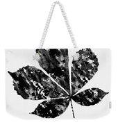 Chestnut Leaf Weekender Tote Bag