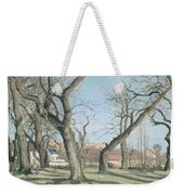 Chestnut Trees At Louveciennes Weekender Tote Bag by Camille Pissarro