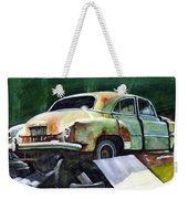 Chev At Rest Weekender Tote Bag