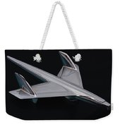 Chevrolet Bel Air Hood Ornament Weekender Tote Bag