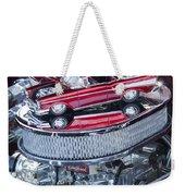 Chevrolet Bel-air Matchbox Car Weekender Tote Bag