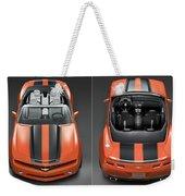 Chevrolet Camaro Convertible Concept 5  Weekender Tote Bag