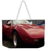 Chevrolet Corvette 1977 Weekender Tote Bag