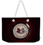 Chevrolet Corvette, Corvette Logo Weekender Tote Bag