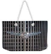Chevrolet Grill Weekender Tote Bag