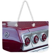 Chevrolet Impala Ss Taillight 2 Weekender Tote Bag