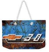 Chevy 3.0 Photomontage Weekender Tote Bag