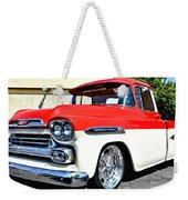 Chevy Apache Custom Hot Rod Truck Weekender Tote Bag