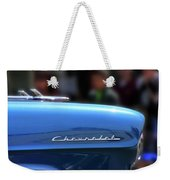 Chevy Blues Weekender Tote Bag