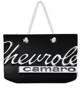 Chevy Camaro Emblem Weekender Tote Bag