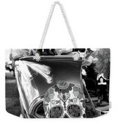 Chevy Decor Day Of Dead Bw Weekender Tote Bag