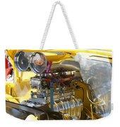 Chevy Motor Weekender Tote Bag