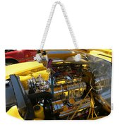 Chevy Motor - Side View Weekender Tote Bag