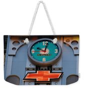 Chevy Times Square Clock Weekender Tote Bag