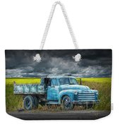 Chevy Truck Stranded By The Side Of The Road Weekender Tote Bag
