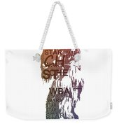 Chewbacca Typography Weekender Tote Bag