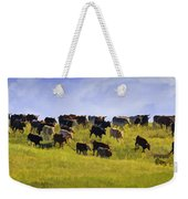 Cheyenne Cattle Roundup Weekender Tote Bag