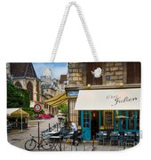 Chez Julien Weekender Tote Bag by Inge Johnsson