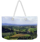Chianti Region In Italy Weekender Tote Bag by Gregory Ochocki and Photo Researchers